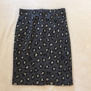 ***NWT LOFT ANIMAL PRINT SKIRT***